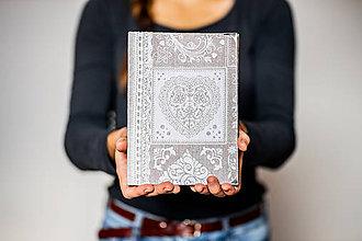"""Papiernictvo - Diár 2020 * sketchbook * zápisník čistý/linajkový A5 ,,FOLK HEART"""" - 11315672_"""