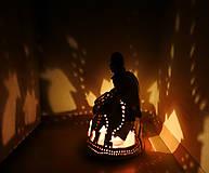 "Svietidlá a sviečky - ""Dedinôčka"" - anjelska aromalampa - 11319216_"