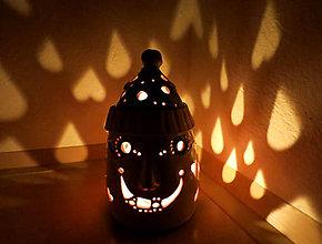 """Svietidlá a sviečky - """"čapičák 1"""" - lampášik - 11319093_"""