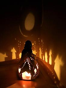 "Svietidlá a sviečky - ""Dedinôčka"" - anjelska aromalampa - 11319217_"