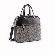 Veľké tašky - Daily Tweedy leather - 11320115_