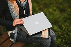 Na notebook - VOŇAVÉ KOŽENÉ PUZDRO ČIČMANY ČIERNE - 11318283_