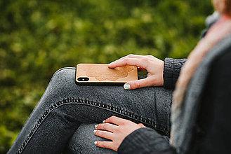 Na mobil - Drevený zadný kryt #RedAntNature Mandala - 11317525_