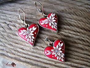 Sady šperkov - Súprava Hearts - 11318462_