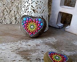Drobnosti - Žiarivá bacuľka - Na kameni maľované - 11317083_