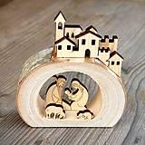 Dekorácie - Betlehem v dreve - 11317379_