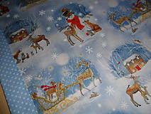 Úžitkový textil - Vianočný obrus stredový. - 11316694_