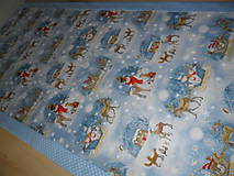 Úžitkový textil - Vianočný obrus stredový. - 11316695_