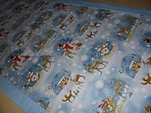 Úžitkový textil - Vianočný obrus stredový. - 11316697_