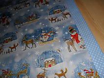 Úžitkový textil - Vianočný obrus stredový. - 11316698_