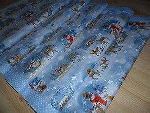 Úžitkový textil - Vianočný obrus stredový. - 11316696_