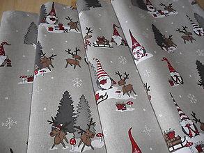 Úžitkový textil - Vianočný obrus stredový. - 11316964_