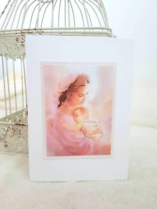 V náručí matky...