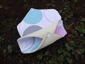 Úžitkový textil - látkové vložky intimky s PUL-biobavlna S - 11318089_