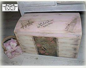 Nábytok - Spomienková truhlica s údajmi o narodení :) - 11316239_