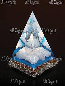 Dekorácie - Núbijská pyramída - orgonit - 11317644_