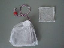 Úžitkový textil - Sada odličovacích štvorcov *Grey* - 11317246_