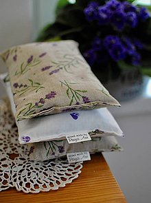 Úžitkový textil - Levanduľová podložla - 11318778_