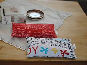 Úžitkový textil - Podložky s nápismi - 11318789_