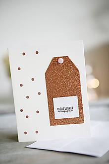 Papiernictvo - Vianočná pohľadnica - 11322129_