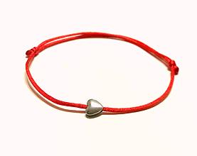 Náramky - náramok srdce vodeodolný - 11323472_