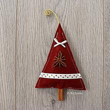 Dekorácie - Vianočné voňavé stromčeky - 11323753_