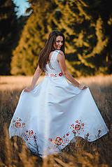 Šaty - Svadobné šaty s výšivkou - 11321305_