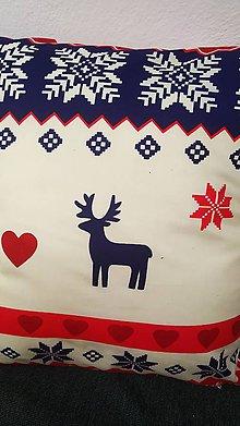 Úžitkový textil - Obliečka na vankúš-vianoce na chalupe - 11324889_