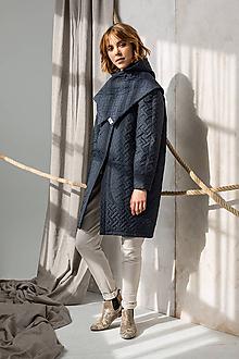 Kabáty - Midnight blue coat - 11325008_