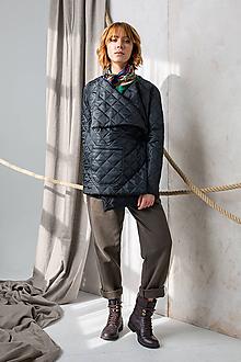 Kabáty - Black winter blazer - 11325022_