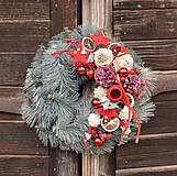 Dekorácie - Vianočný veniec - 11324924_