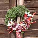 Dekorácie - Vianočný venček z jedličky - 11324927_