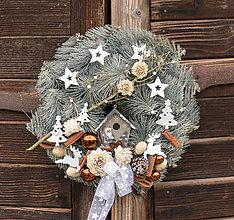 Dekorácie - Vianočný veniec - 11324713_