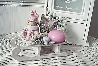 Dekorácie - Vianoce v babey farbe. - 11321476_