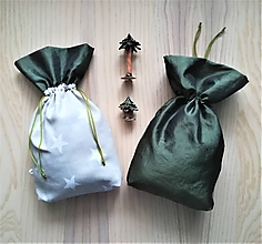 Iné tašky - Darčekové vrecúško - hviezdy - 11323733_
