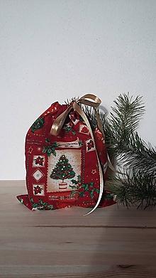 Úžitkový textil - Vrecúško vianočné - 11321469_