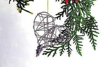 Dekorácie - Magické vianočné srdce II. - 11324315_