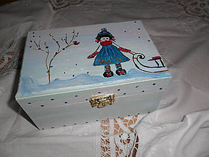 Krabičky - Šperkovnička - 11321298_