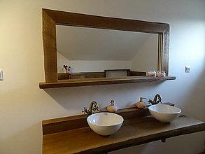 Zrkadlá - Dubové zrkadlo - 11321435_