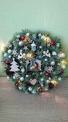Dekorácie - Vianocny veniec Betlehem - 11321187_