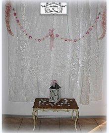 Dekorácie - Reťaz so srdiečkami/svadobná dekorácia :) - 11323944_