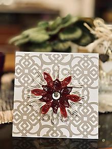 Papiernictvo - vianočná pohľadnica - 11323908_