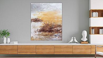 Obrazy - Podvečer, 100x120, abstraktné obrazy - 11322989_
