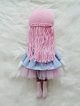 Hračky - Autorská bábika XVII. - farbičková - 11324706_