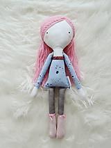 Hračky - Autorská bábika XVII. - farbičková - 11324707_