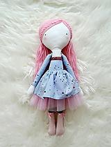 Hračky - Autorská bábika XVII. - farbičková - 11324716_