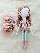 Hračky - Autorská bábika XVIII. - 11324758_
