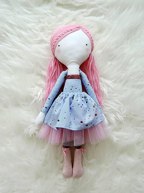 Autorská bábika XVII. - farbičková