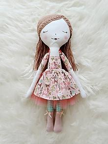 Hračky - Autorská bábika XVIII. - 11324749_