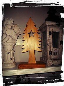 Dekorácie - Drevený stromček - 11323215_